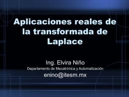 Aplicaciones reales de la transformada de Laplace