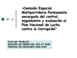 Lucha anti corrupción