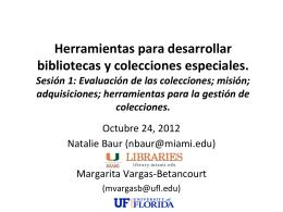 """Caja de herramientas de un archivista"""" Webinar"""