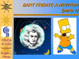 BART FRENTE A NEWTON - cbasefisqui4eso