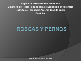 roscas - Mechanical Technology School`s Blog |