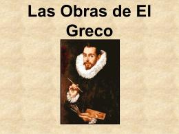 Las obras de El Greco - Baldwinsville Central