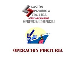 OPERACIÓN PORTURIA