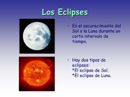 Los Eclipses - INTEF