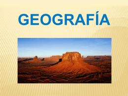 Geografía Propósitos Propósitos del estudio de la