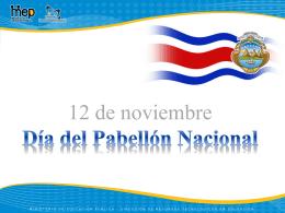 12 de noviembre Día del Pabellón Nacional