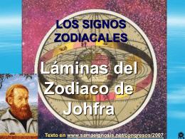 El Zodiaco de Johfra - Gnosis. Instituto Cultural