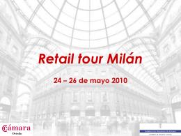Misiones formativas Milán