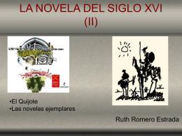 Tema 16: La novela del siglo XVI (II) -