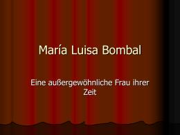 María Luisa Bombal - Portal -