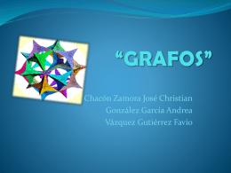 """GRAFOS"""""""