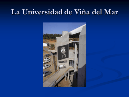 La Universidad de Viña del Mar