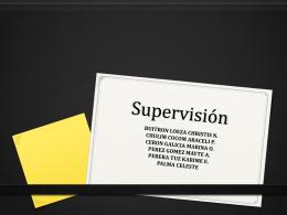 supervisión - Enfermería De LaSalle