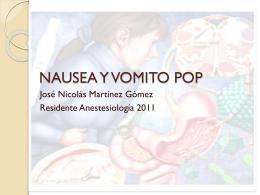 NAUSEA Y VOMITO POP