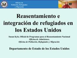 Programa de admisión de refugiados de los Estados