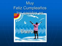 Muy Feliz Cumpleaños los nacidos en