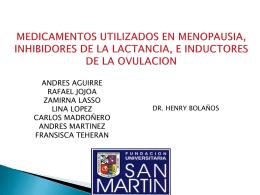 MEDICAMENTOS INHIBIDORES DE LA PROLACTINA