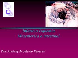 Infarto de Mesenterio - Cirugia HUC Jun Oct 2008