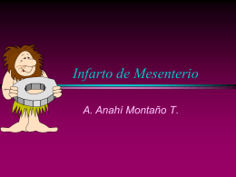 Infarto de Mesenterio - Build a Free Website with
