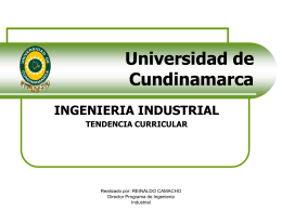 Diapositiva 1 - INGENIERIA INDUSTRIAL UNIVERSIDAD