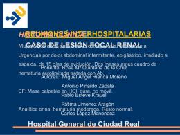 CASO LESIÓN FOCAL RENAL