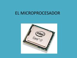 EL MICROPROCESADOR - dpe