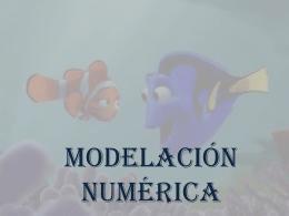 MODELACIÓN NÚMERICA Y SIMBÓLICA