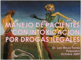 Intoxicación por drogas ilegales