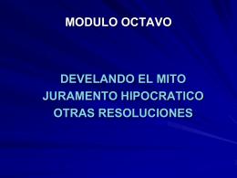 MODULO OCTAVO