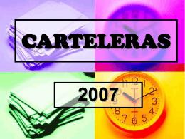 CARTELERAS - maestrasdelcorazon