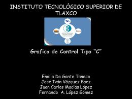 INSTITUTO TECNOLÒGICO SUPERIOR DE TLAXCO Gráficos