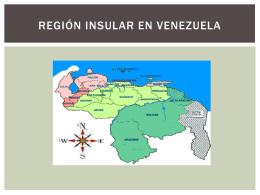 Región Insular en Venezuela