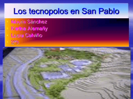 Los tecnopolos en San Pablo