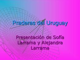 Praderas del Uruguay - Liceoweblog`s Weblog