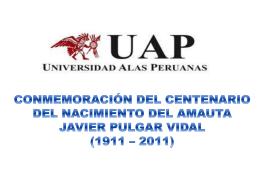 Mi patria, el Perù, tiene un nombre que significa