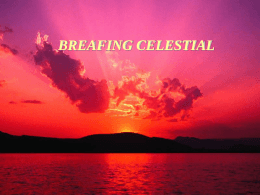 Reflexiones `Breafing Celestial`