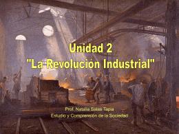 """Unidad 2 """"La Revolución Industrial"""""""