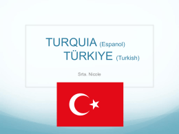 TURKEY(English) TURQUIA (Espanol) Türkiye