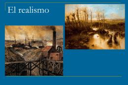 El Realismo - LenguaLiteraturaLarraona