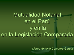"Derecho Notarial"""