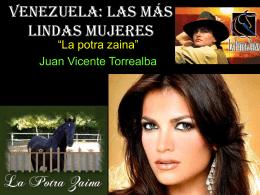 VENEZUELA: LAS MÁS LINDAS MUJERES