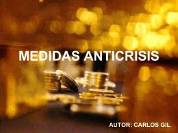 MEDIDAS ANTICRISIS - CMPC Consultores, C.A.