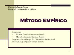 Método Empírico - Matfis08's Weblog