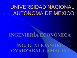 Introducción Ingeniería Económica