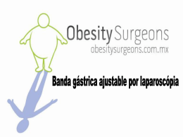 Diapositiva 1 - .::OSM - ObesitySurgeons México