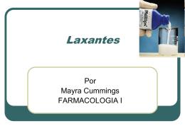Laxantes - Farmacologia I