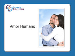 10. Amor humano