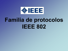 Familia de protocolos IEEE 802