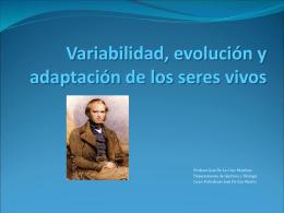 Selección natural y extinción de especies