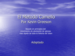 El Metodo Camello - idportodoelmundo.com